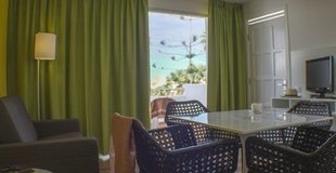 Apartment with garden view Coral California Hotel